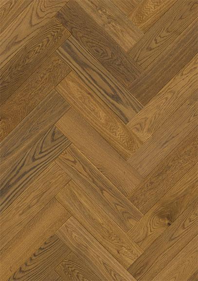 Saltholm Brown Herringbone Oak